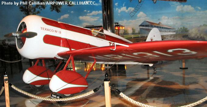 "Travel Air Mystery Ship "" TEXACO  N°13 """