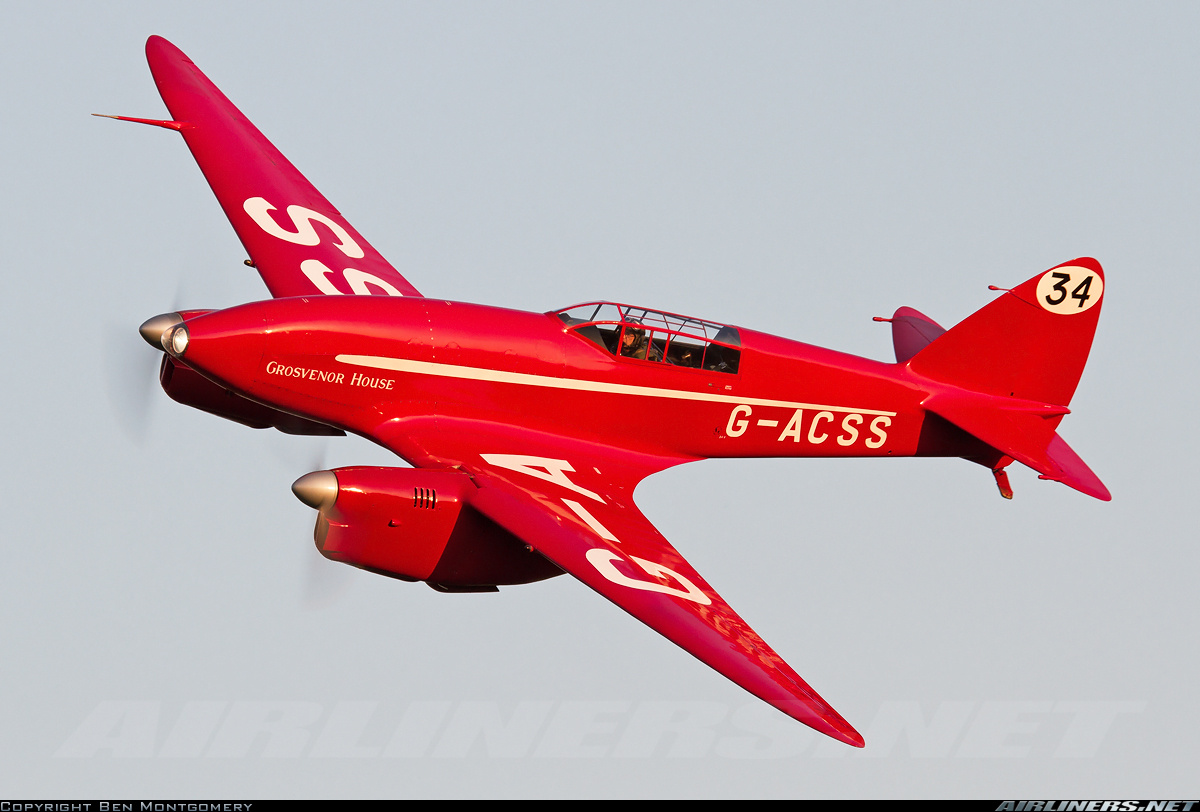 DE HAVILLAND - DH88 - comet  N° 34