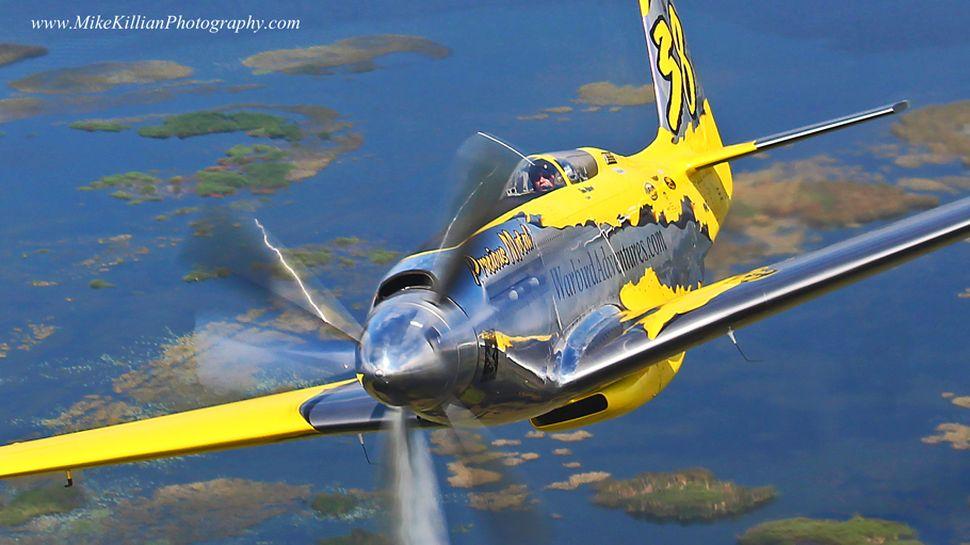 P 51 Mustang N°38
