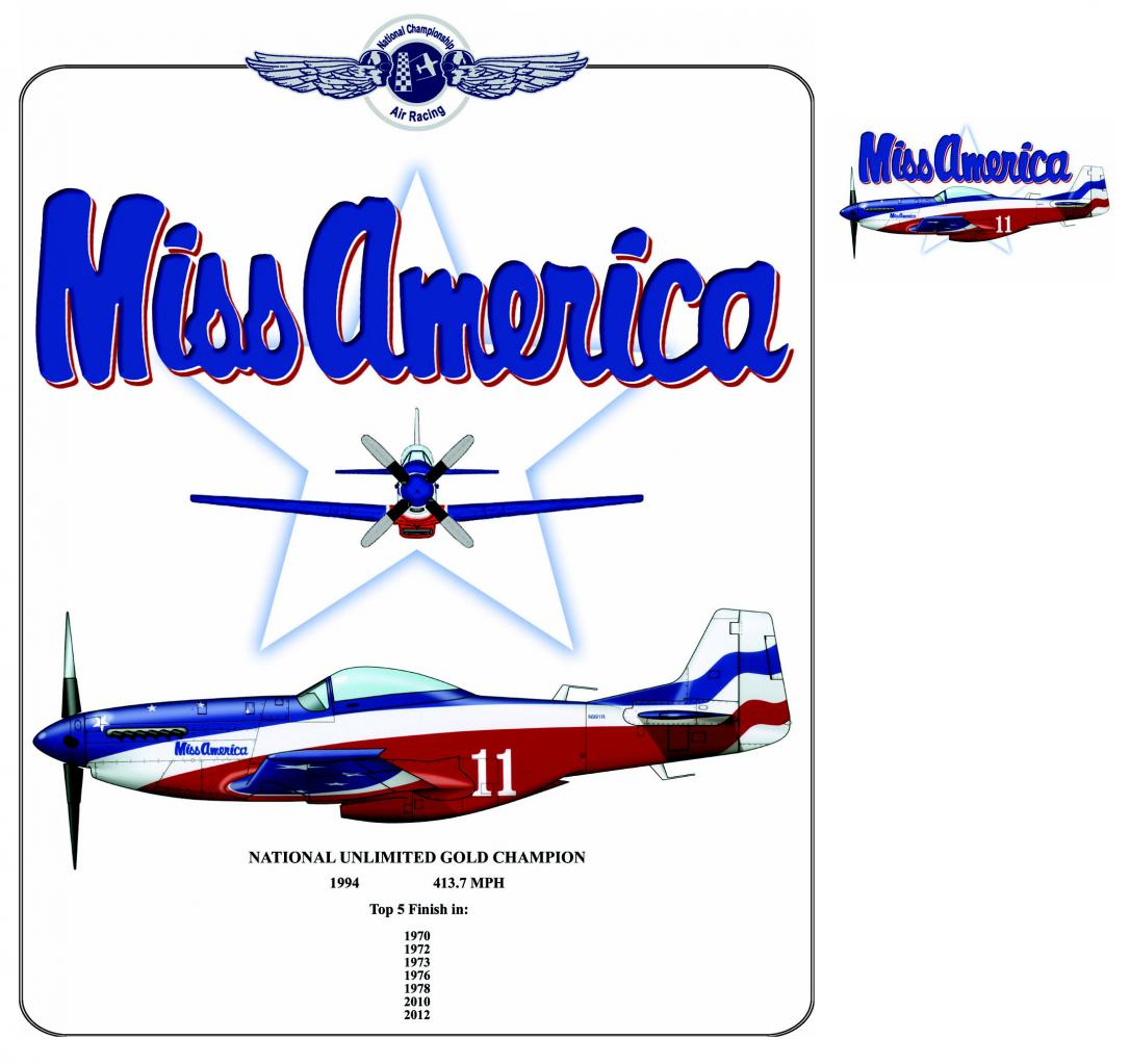 Miss America - 2 vues