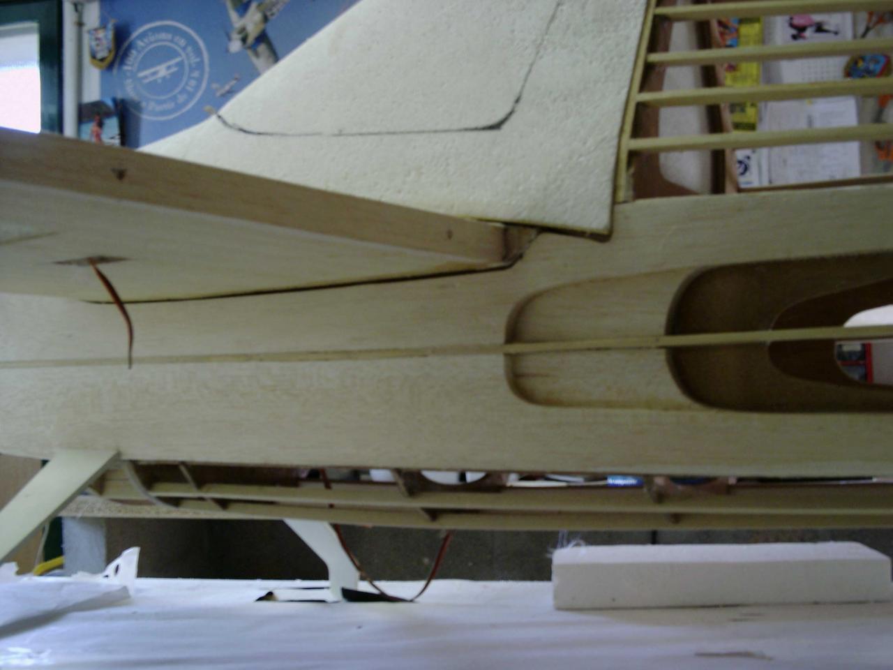 details  de la structure des flans du prototype
