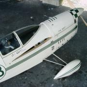 Le  fuselage du Chester jeep de Pierre Marie BARRE