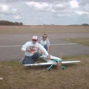 Patrick  Baudin  et son little Rocket