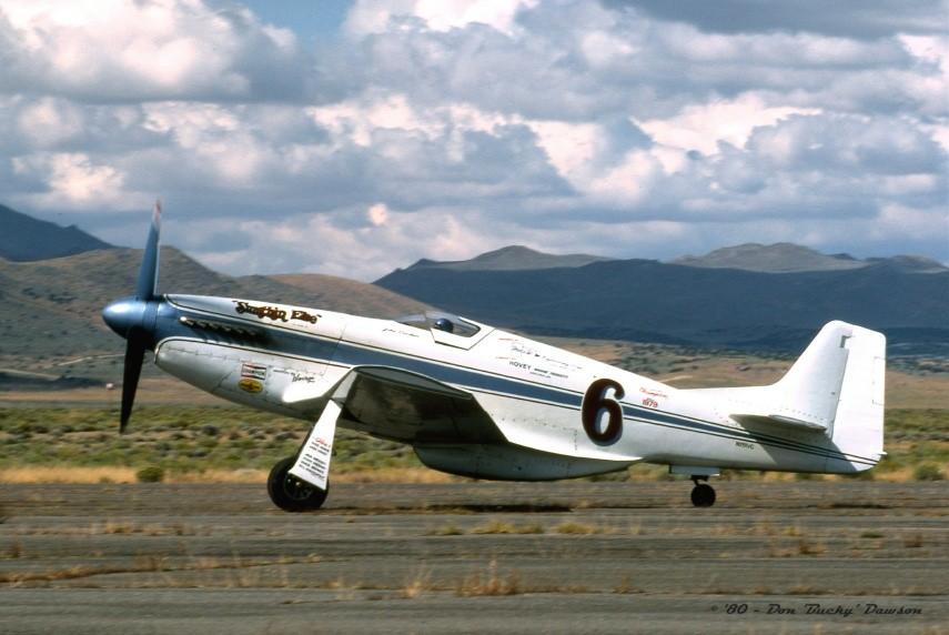 P 51 Mustang - N° 6