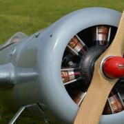 Faux moteur en étoile  pour le Laird Turner motorisé par un 62 Zénoah