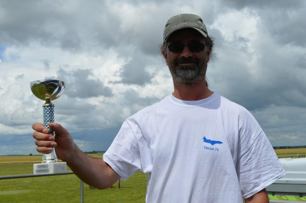 Guillaume BERNON Vainqueur en Cassutt Cup