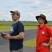 Vincent pilote et son Mécano