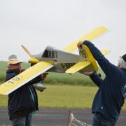 Claude Baudet présente son Avion aux juges de Pylones