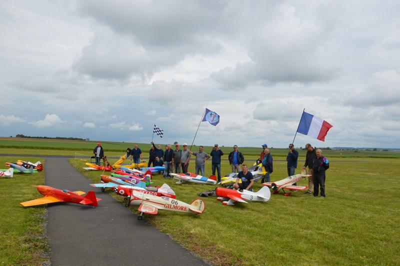 Les drapeaux  sous le vent