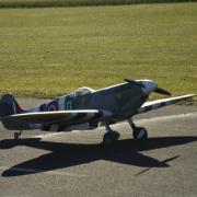 Un Spitfire sur le Tarmack  de Poitiers