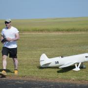 Petit vol de calibrage pour le Howard Ike de David