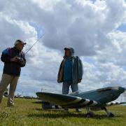 Piloté par P.Rousseau  / le  beau spitfire de C. Baudet
