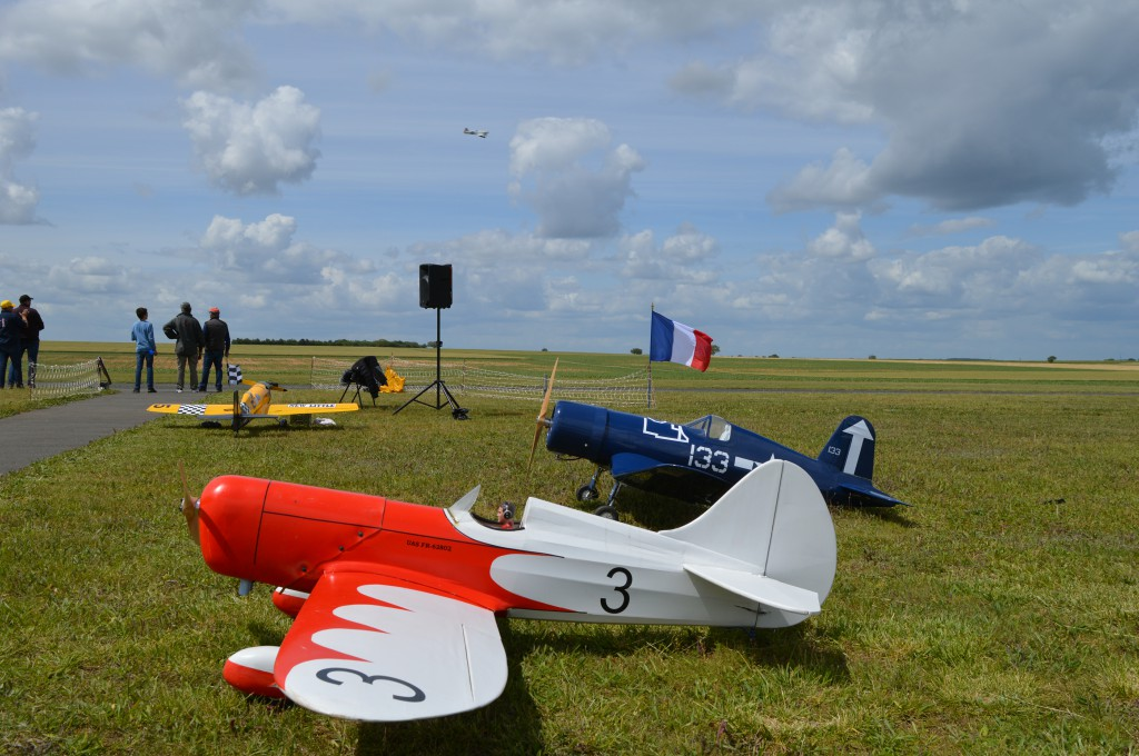 Les deux avions de Pascal Rousseau