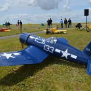 Nouveauté également cette année le Corsair F4U de Pascal Rousseau