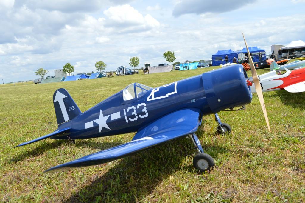 Le Corsair F4U volait bien sur en UNLIMITED
