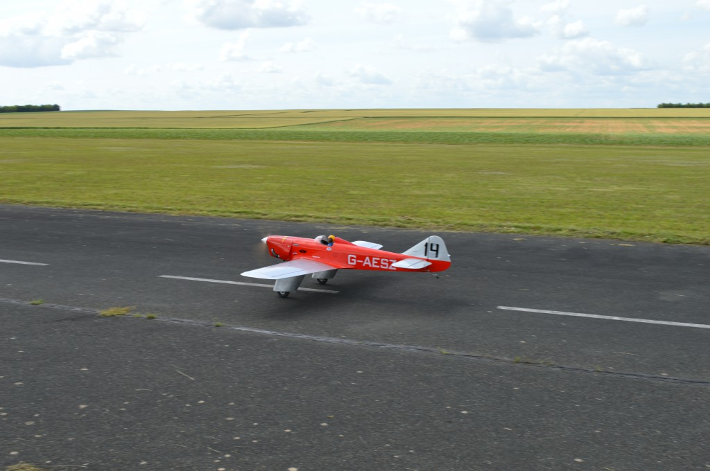P. Chansigaud au décollage