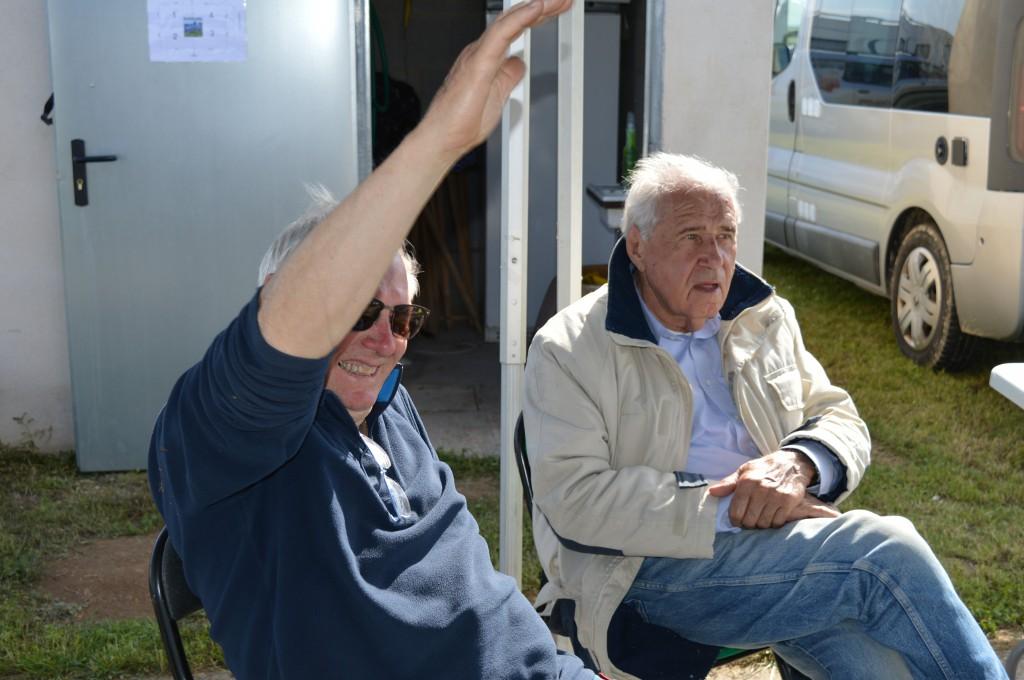 JJ . Ovrel  auprès de JP. Baudin est appelé pour sa 3ème place en Bendix