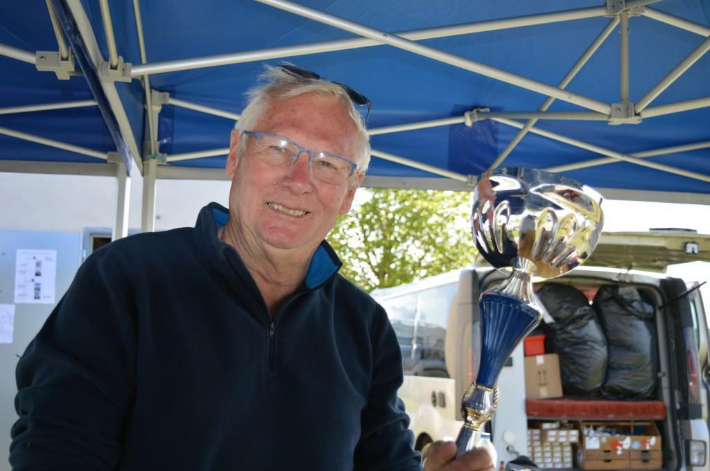 Jean Jacques Ovrel - 3ème place en Bendix Trophy
