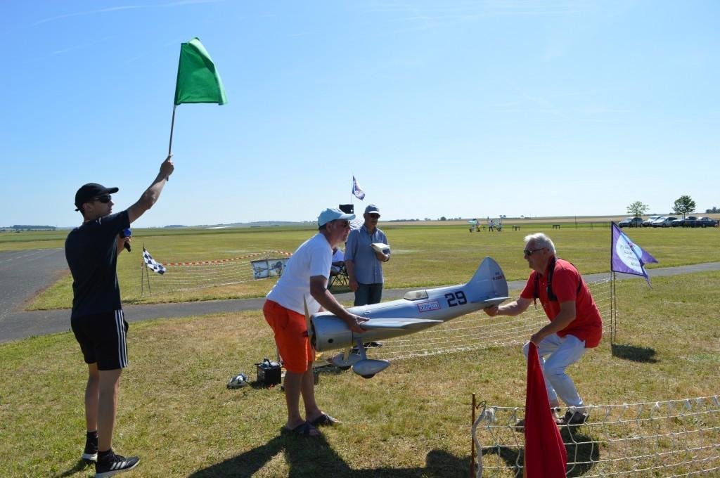 Confirmation du  drapeau Vert pour le Laird Turner de Patrick