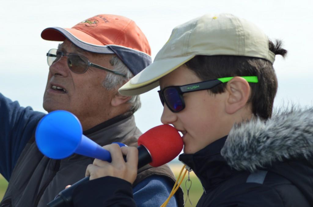Directeur de courses Claude LEGER  et Chef de piste Nicolas Brault