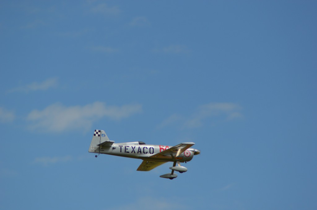 Le N°64 in the sky