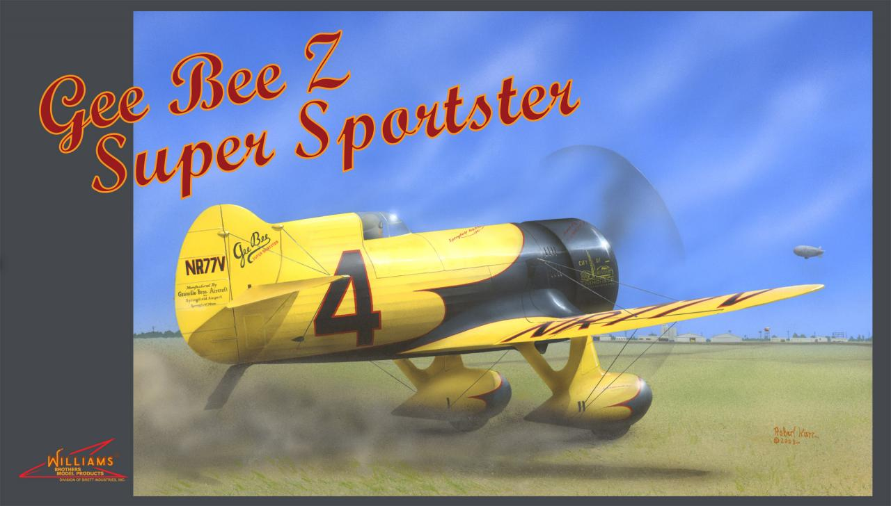 """Gee Bee Z """" Lest GO """""""