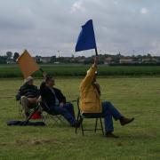 Les juges aux drapeaux
