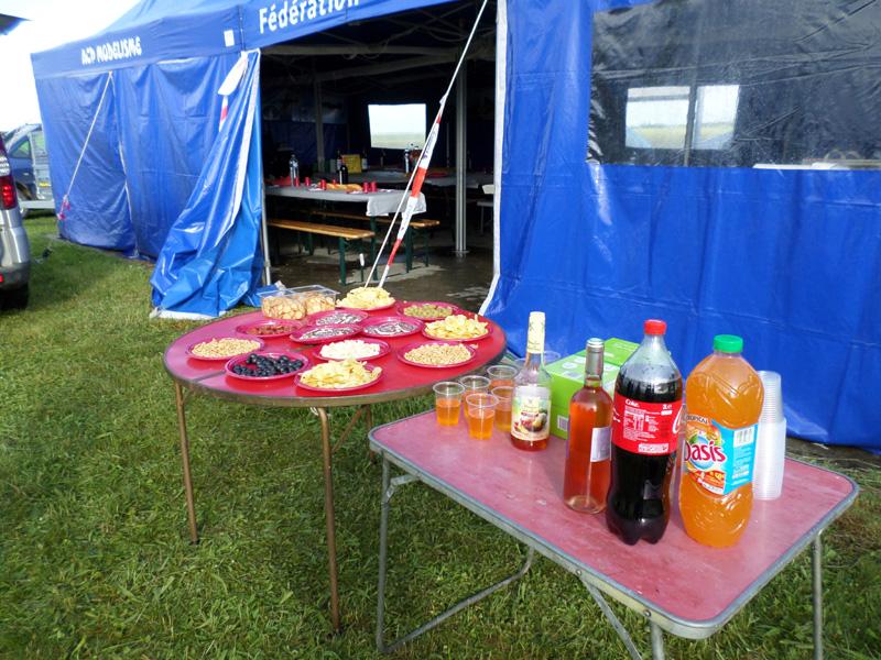 Apéritif et repas du samedi soir  offerts par le PRGM