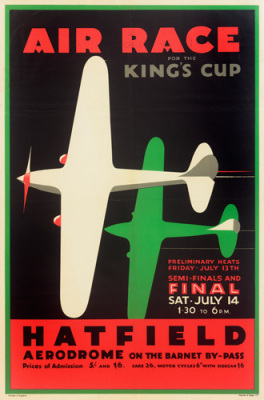 King's Cup Hatfield 1934