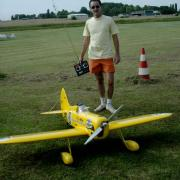 N° 80 - Stéphane Durand et son Gee Bee au fuselage Fibre